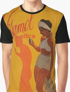 "Vintage advertising poster ""Vitamol Ultra"" Graphic T-Shirt"