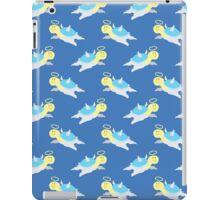 Angel Turtle Blue Pattern iPad Case/Skin