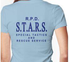 Jill Valentine stars shirt Womens Fitted T-Shirt