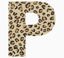P Leopard Baby Tee