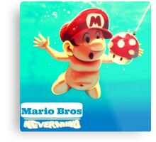 "Mario's disk ""Nevermind"" Metal Print"