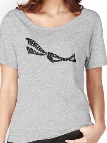 Leonardo TMNT Black Women's Relaxed Fit T-Shirt