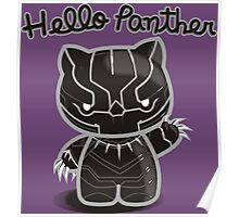 HELLO PANTHER Poster