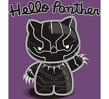 HELLO PANTHER Photographic Print