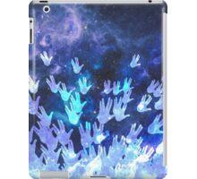 H.E.L.L.O. / blue iPad Case/Skin