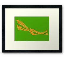 Michelangelo TMNT Orange Framed Print