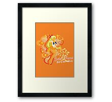 Soldier of Love & Beauty Framed Print