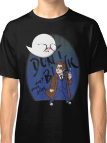 Don't Blink Boo & Dr.who Classic T-Shirt
