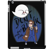 Don't Blink Boo & Dr.who iPad Case/Skin