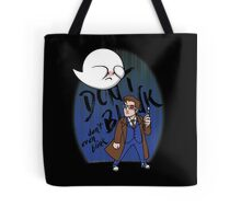 Don't Blink Boo & Dr.who Tote Bag
