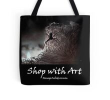 The Spider on the Candle - Shop with Art Tote Bag