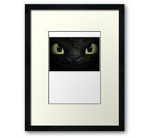 dragon toothless Framed Print