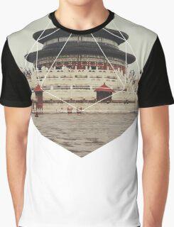 Spiritual Buddha Temple Graphic T-Shirt