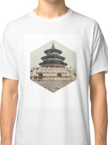Spiritual Buddha Temple Classic T-Shirt