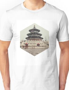 Spiritual Buddha Temple Unisex T-Shirt