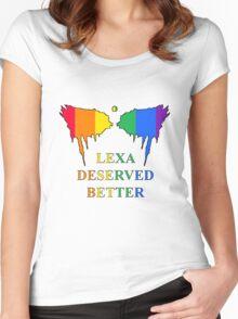 The 100 - Lexa Deserved Better Women's Fitted Scoop T-Shirt