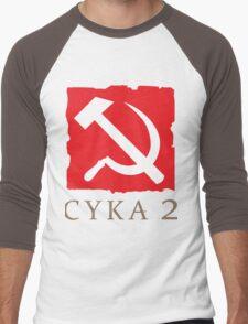 CYKA 2 Funny, Dota 2 Shirts Men's Baseball ¾ T-Shirt