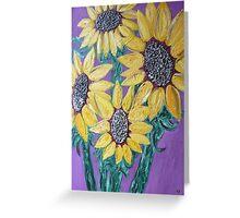 Sunflowers G-Pollard Greeting Card