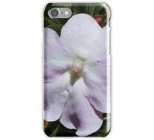 Purple Flower on a Bush iPhone Case/Skin