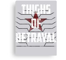 Thighs of Betrayal- The Winter Soldier Canvas Print