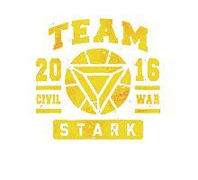Civil War - Team Stark Photographic Print