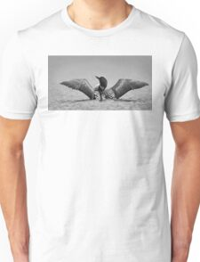 Common loon in black and white T-Shirt