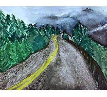 Mystery Road Photographic Print