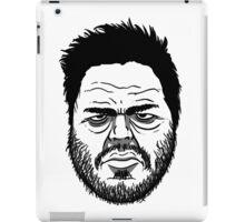 Grumpy mug iPad Case/Skin