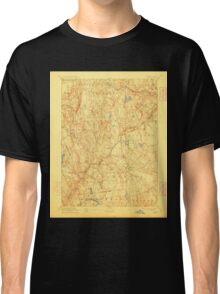 USGS TOPO Map Connecticut CT Gilead 331028 1892 62500 Classic T-Shirt