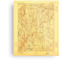 USGS TOPO Map Connecticut CT Gilead 331028 1892 62500 Metal Print
