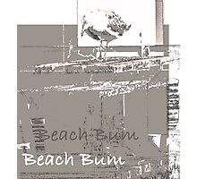 My Favorite Beach Bum  Photographic Print