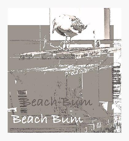 My Favorite Beach Bum  Photographic Print