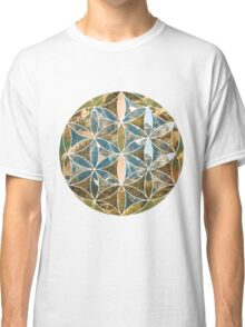 Mountain Geometric Collage 2 Classic T-Shirt