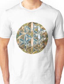 Mountain Geometric Collage 2 Unisex T-Shirt