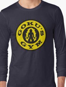 Goku's Gym (Gold's Gym Parody) Long Sleeve T-Shirt