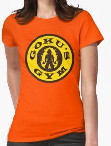 Goku's Gym (Gold's Gym Parody) Womens Fitted T-Shirt