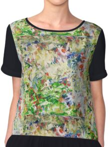 Profile in Thought Chiffon Top