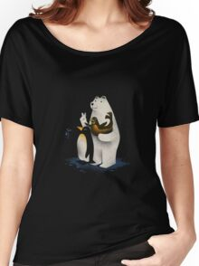 Arctic Selfie Women's Relaxed Fit T-Shirt