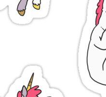 Mini Unicorns alt. Sticker