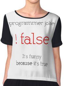 programmer Chiffon Top
