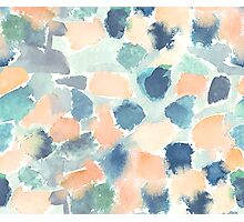 Abstract soft watercolor Photographic Print