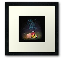 Best Friend Forever Snoopy Framed Print