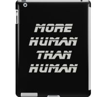 More Human Than Human, Blade Runner iPad Case/Skin