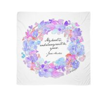 My heart is, and always will be, yours - Jane Austen Scarf