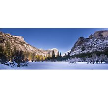 Yosemite Mirror Lake Photographic Print