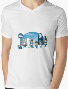 Glibli Mens V-Neck T-Shirt