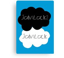 Johnlock? Johnlock Canvas Print