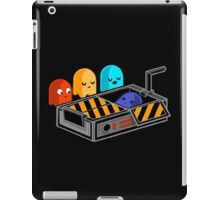 Ghost busted Pacman iPad Case/Skin
