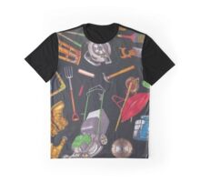 Home and Garden Tools Graphic T-Shirt