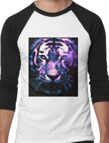 Tiger Surreal Men's Baseball ¾ T-Shirt